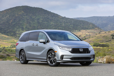 Going on sale August 3, the refreshed for 2021 Honda Odyssey receives numerous updates to styling, along with upgraded technology and safety features to further strengthen its position as America's retail best-selling minivan for the past 10 years, the top choice of American families looking for the ultimate fun family vehicle.