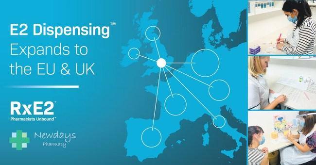 E2 Dispensing Expands to the EU and UK (PRNewsfoto/RxE2)