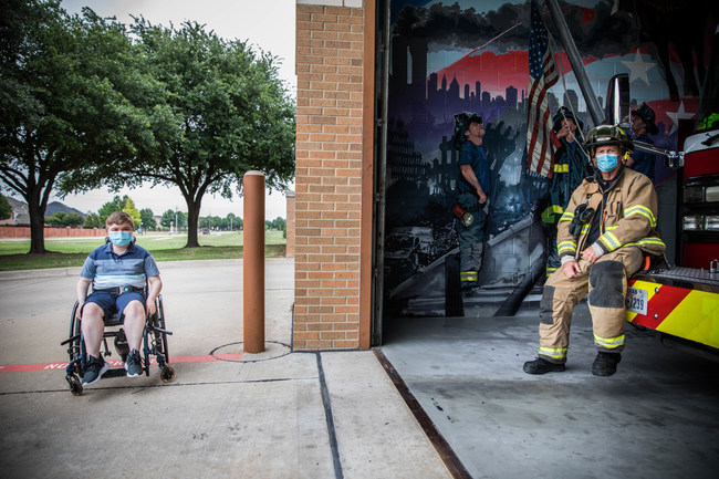 International Association of Fire Fighters launch virtual Fill the Boot fundraiser for Muscular Dystrophy Association during the pandemic, to continue to fund research and care for cures.