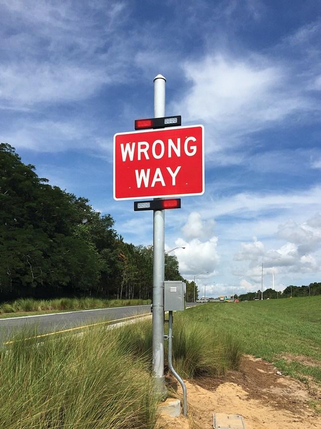 TAPCO Wrong-Way Alert System