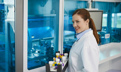 cobas® prime Pre-analytical System is a first-of-its-kind solution designed to automate all common manual steps in molecular diagnostics laboratories