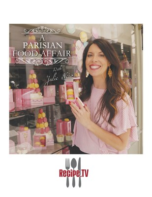 """""""A Parisian Food Affair with Julie Nies"""" is one of many shows featured on ESN's television network Recipe.TV (PRNewsfoto/Entertainment Studios, Inc.)"""