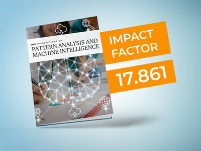 IEEE Transactions on Pattern Analysis and Machine Intelligence (TPAMI) earned a high impact factor of 17.861—the second-highest impact factor of all IEEE publications.