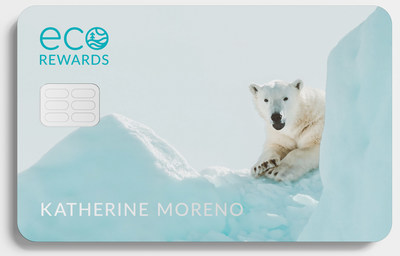 Introducing Eco Rewards: A conceptual credit card that would provide funding for environmental charities and causes. Consumers' accumulated rewards would be split 50/50 between donations and cashback. SEAL advocacy group calling on largest financial institutions to create Eco Rewards, thereby creating new funding to beat climate change.