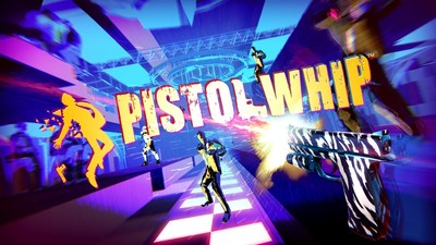 Become the most epic pistol-wielding action hero EVER with Pistol Whip, now LIVE on Sony Playstation VR! (CNW Group/Cloudhead Games)