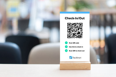 Facilitron's Attendee Management, featuring touchless check-in and out, attaches attendee names and contact information onto events booked through the system.
