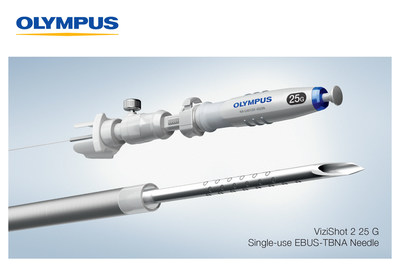 Olympus announces the launch of the ViziShot 2 25 G, the smallest of the Olympus EBUS-TBNA needle portfolio, expanding physician capabilities in lung cancer diagnosis and staging.