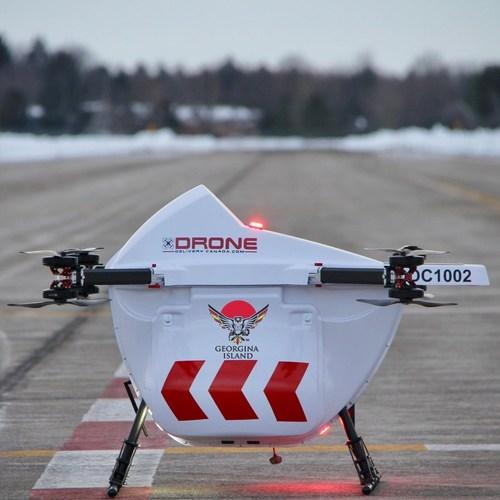 Drone Delivery Canada's Sparrow Drone (CNW Group/Drone Delivery Canada)