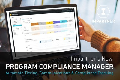 Impartner's New Program Compliance Manager automates partner tiering, tracking of partners' progress in complying with program criteria, and updates partners on program status.