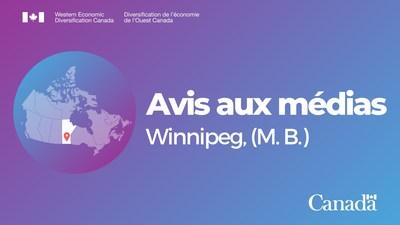 Le gouvernement du Canada fournira des détails sur le soutien apporté à des destinations touristiques clés au Manitoba (Groupe CNW/Diversification de l'économie de l'Ouest du Canada)