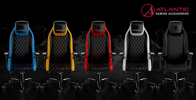 Dardashti Gaming Chair - Available in Five Colors - Atlantic Gaming Accessories