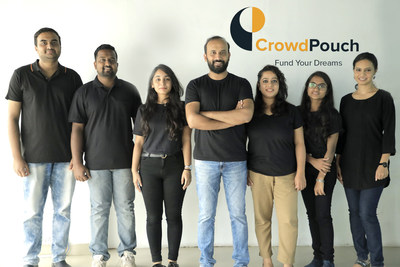 Team CrowdPouch with Founder and CEO, Vittal Ramakrishna