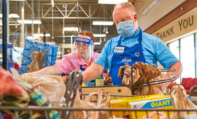 """Kroger ranks #9 on 2020 Axios Harris Poll 100. Retailer was noted as a top performer on two new measures in this year's survey, for """"Best on COVID"""" - a new measure of """"has taken meaningful actions to address the challenges of COVID-19"""" – and """"Best on racial equality"""" - a new measure of """"has taken meaningful actions in support of racial equality""""."""