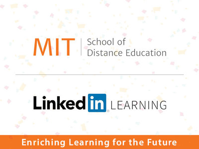 MIT School of Distance Education is the First Institute in India to partner with LinkedIn Learning to provide premium quality education