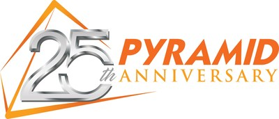 Pyramid 25th Anniversary Logo