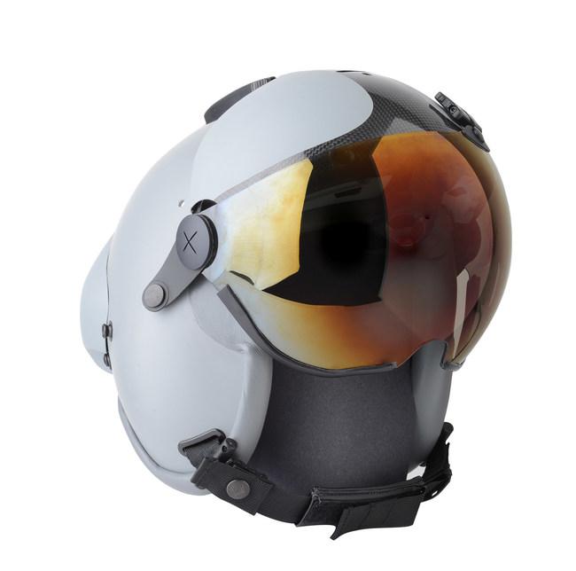 Joint Helmet Mounted Cueing System (JHMCS) II Undergoes Flight Testing  Aboard F-16V