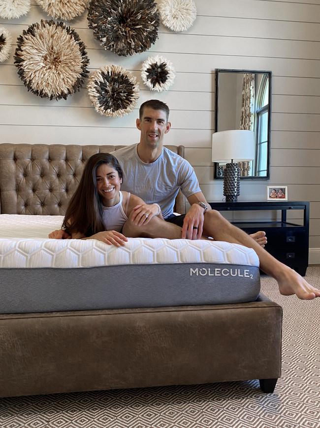 Michael and Nicole Phelps Score Better Sleep with MOLECULE