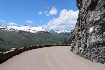 Seeing around the next corner. - Glacier National Park
