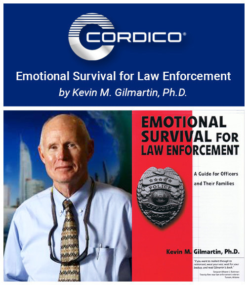 Dr. Kevin Gilmartin is the author of 'Emotional Survival for Law Enforcement: A Guide for Officers and Their Families.'