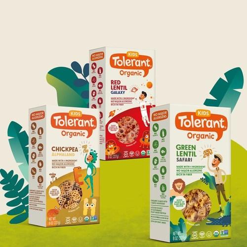 Tolerant's new Kids Pasta