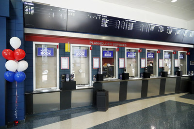 William Hill's First-Ever Sports Book Within a U.S. Sports Complex Opens at Capital One Arena in Washington, D.C. with seven ticket windows and 10 kiosks.