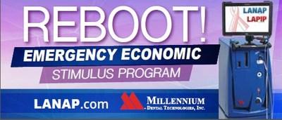 Millennium Dental Technologies announces the Reboot Emergency Economic Stimulus Program for dentists.