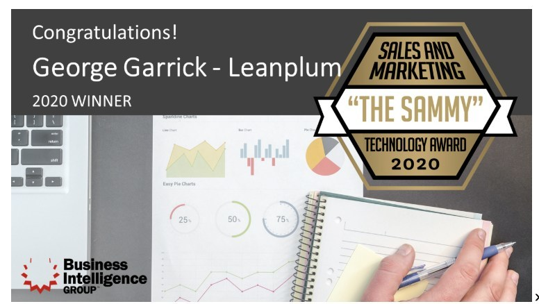George Garrick Recognized as Person of the Year by Sales & Marketing Technology Awards