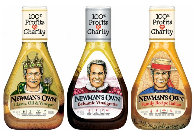 Newman's Own Salad Dressing
