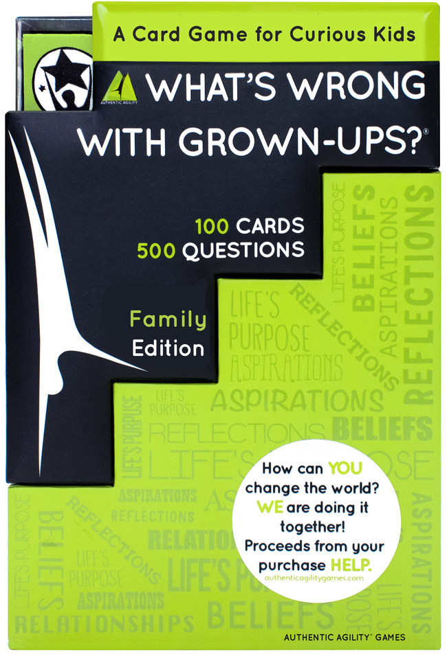 What's Wrong With Grown-Ups? Launches on Amazon