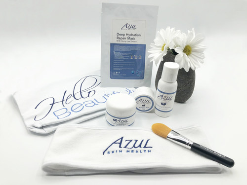 Azul Skin Health Facial Kit