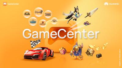 Huawei annonce le lancement mondial de HUAWEI GameCenter, une nouvelle plateforme de jeux pour appareils (PRNewsfoto/Huawei Consumer Business Group)