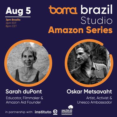 BOMA Brasil presents an online discussion with Sarah duPont and Oskar Metsavaht.