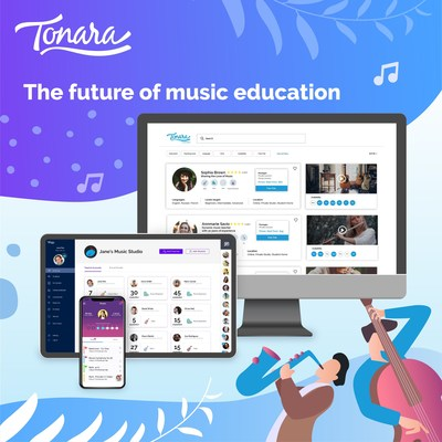 The Future of Music Education is Here and Tonara is Leading the Way With it's Latest Launch, Tonara Connect. August 4th 2020 Press Release