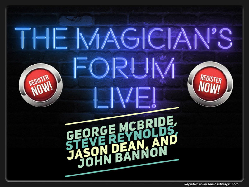 The Magician's Forum Live 2