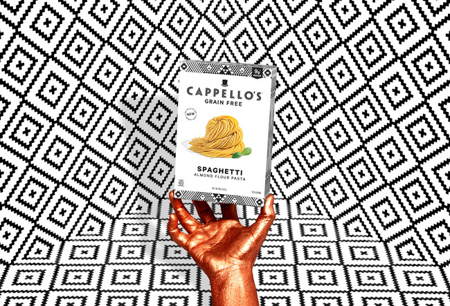 Cappello's Grain-Free Frozen Fresh Almond Flour Spaghetti