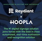 Raydiant and Hoopla Partner to Bring Engaging Performance Management Dashboards to the Home Office