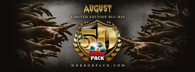 August HorrorPack Limited Edition Blu-ray #50