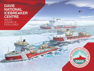 Davie creates Canada's hub for polar technologies and Arctic expertise.Davie is the only shipbuilding facility capable of starting work today on flagship Polar Icebreaker. (CNW Group/Davie Shipbuilding)