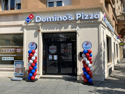 Domino's has opened its first store in Croatia. Residents of Zagreb can now enjoy hot, made-to-order Domino's pizza in-store or delivered to their doorstep.