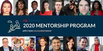 CAJ mentorship (CNW Group/Canadian Association of Journalists)