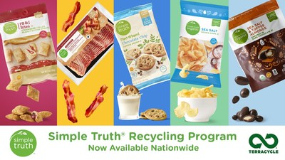 Kroger's new Simple Truth Recycling Program enables customers to recycle more than 300 products from America's largest natural and organic brand without leaving home.