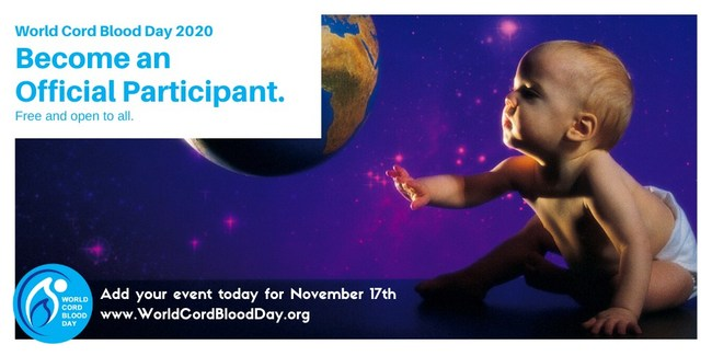 Become an Official Participant (Free and Open to All) - Advance cord blood education in your community!