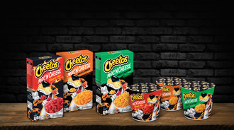 Cheetos Mac 'n Cheese delivers the same bold and intense flavor experience of regular Cheetos and comes in three varieties: Bold & Cheesy, Flamin' Hot and Cheesy Jalapeño.
