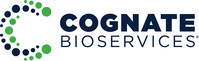 Cognate BioServices' new logo is a modern interpretation composed of a helical series of dots representing the range and dynamic selection of services offered to our clients. We strive to provide the highest quality development and manufacturing services for the cell and gene therapy fields. (PRNewsfoto/Cognate BioServices)