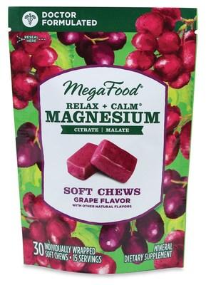 MegaFood Relax + Calm* Magnesium Soft Chews