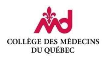 Logo du Collège des médecins du Québec (CMQ) (Groupe CNW/Ordre professionnel des inhalothérapeutes du Québec (OPIQ))