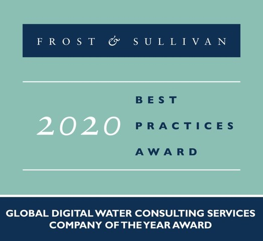 Jacobs Applauded for Its Best-in-Class Digital Water Solutions and Robust Partner Network (PRNewsfoto/Frost & Sullivan)