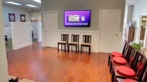 San Jose Chiropractor Waiting Room