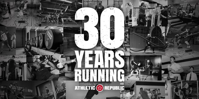 Athletic Republic this month celebrates 30 years of operation, making it one of the longest-lived athletic training brands.