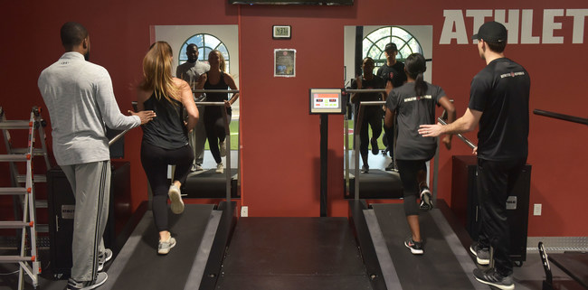 "Athletic Republic's motto is, ""We Teach Speed."" Using the proprietary Super Running Treadmill, video feedback, and a range of drills and protocols, athletes training at AR can gain a step on the competition."